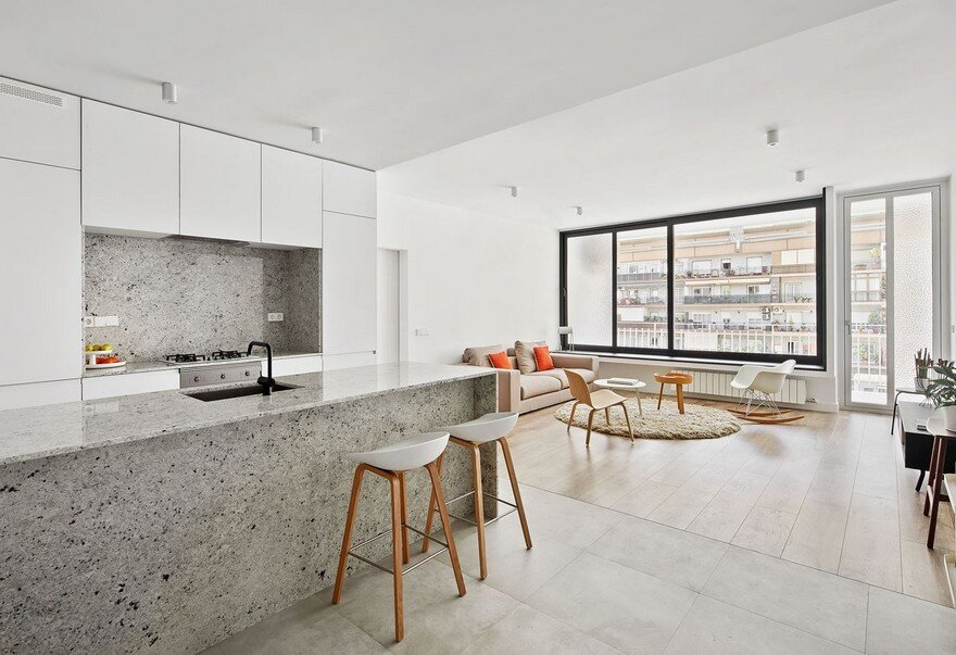 Villarroel Apartment in Barcelona, Raul Sanchez Architects