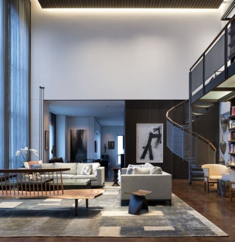 Residence for Two Collectors Chicago-based Wheeler Kearns Architects