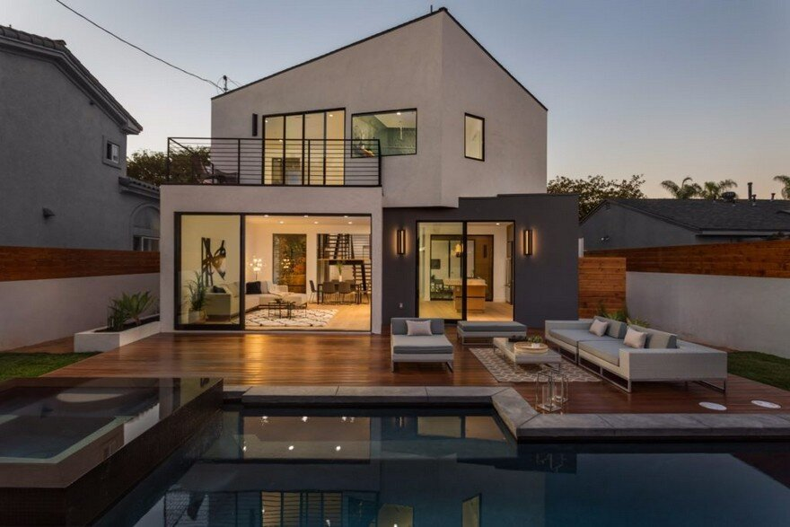 Admiral House In Los Angeles Featuring Contemporary Design And A Zen Like Aesthetic