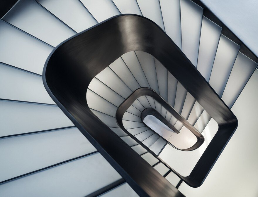 staircase, I/O architects