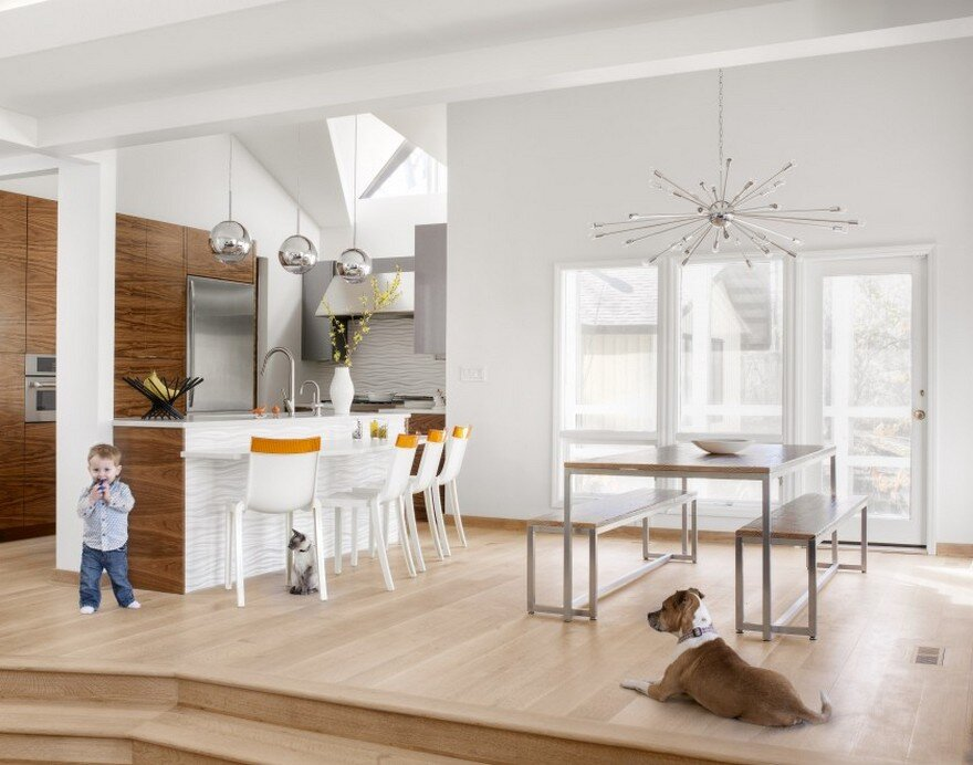 A Mid Century Modern Home Gets Fresh Update for a Young Family