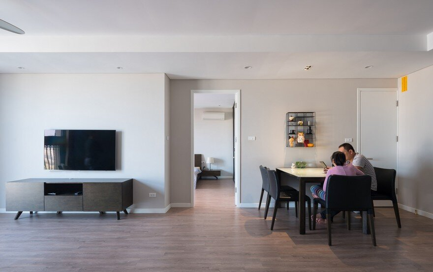 Minimalist Two Bedroom Apartment Designed By Flat6 In Hanoi
