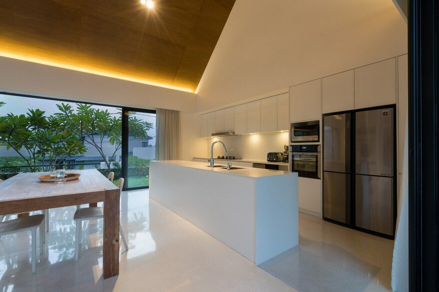 Semi Detached Modern House In Malaysia Fabian Tan Architect