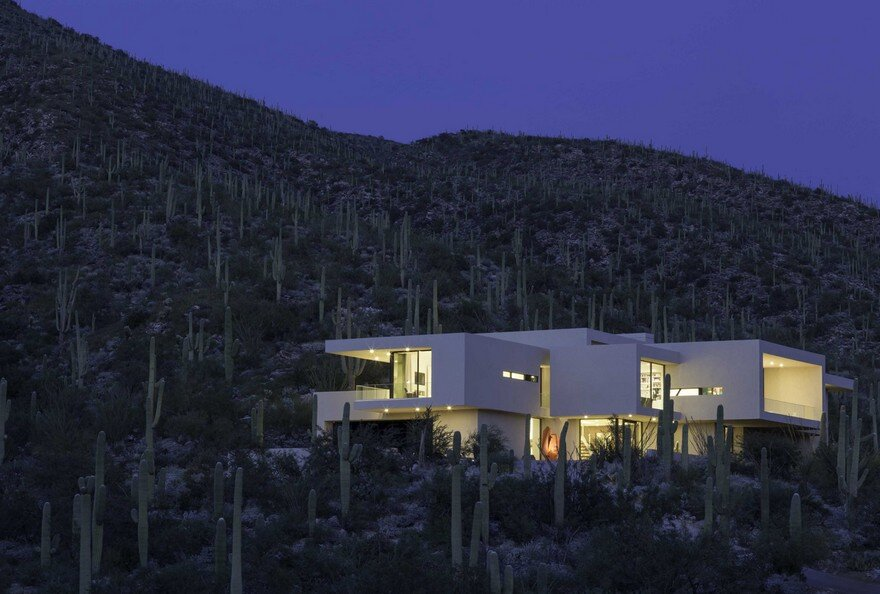 Striking Desert House in Tucson, Arizona, Kevin B. Howard Architects 23
