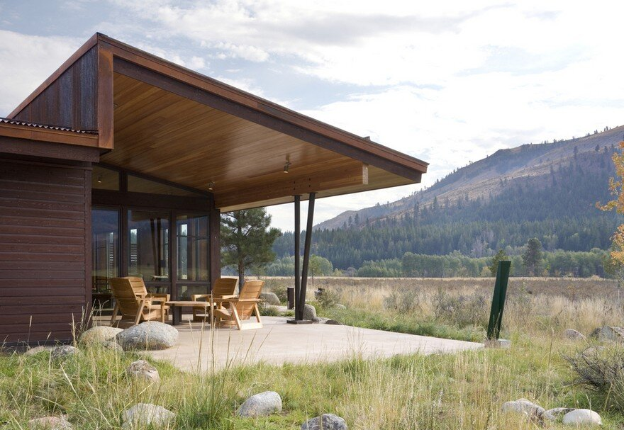Wolf Creek Cabin, Prentiss Balance Wickline Architects 16