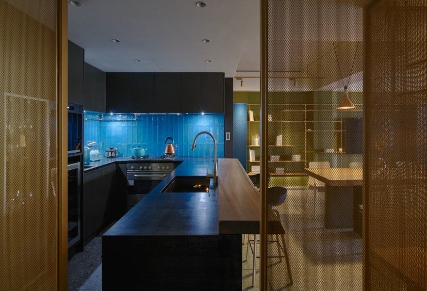 Les Fauves Apartment in Taiwan, Waterfrom Design 6