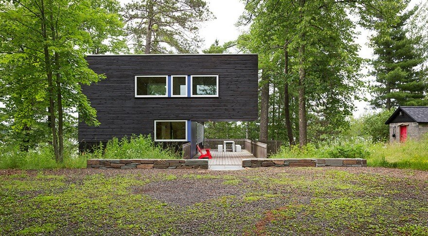 Hyytinen Cabin in Northern Minnesota, Salmela Architect