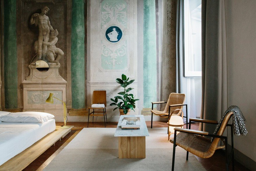Numeroventi in Florence Designed for Co-Living and Studio Working Space 7