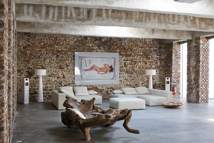 Old Factory Conversion in Dusseldorf, Atelier d'Architecture Bruno Erpicum & Partners 4
