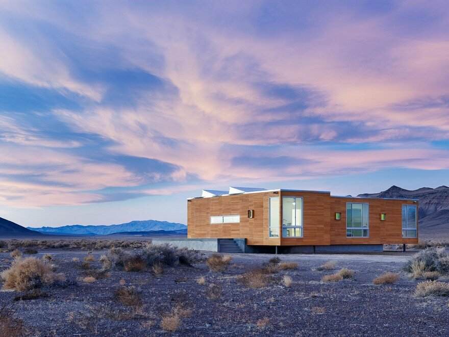 Rondolino Residence in Nevada Desert by Nottoscale 3