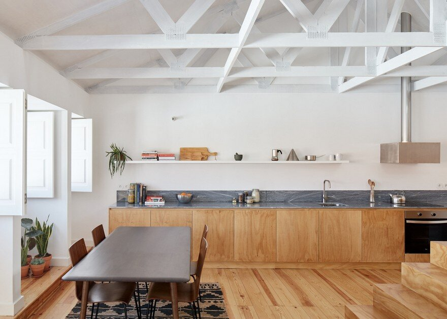 kitchen, dining room, Arriba Studio