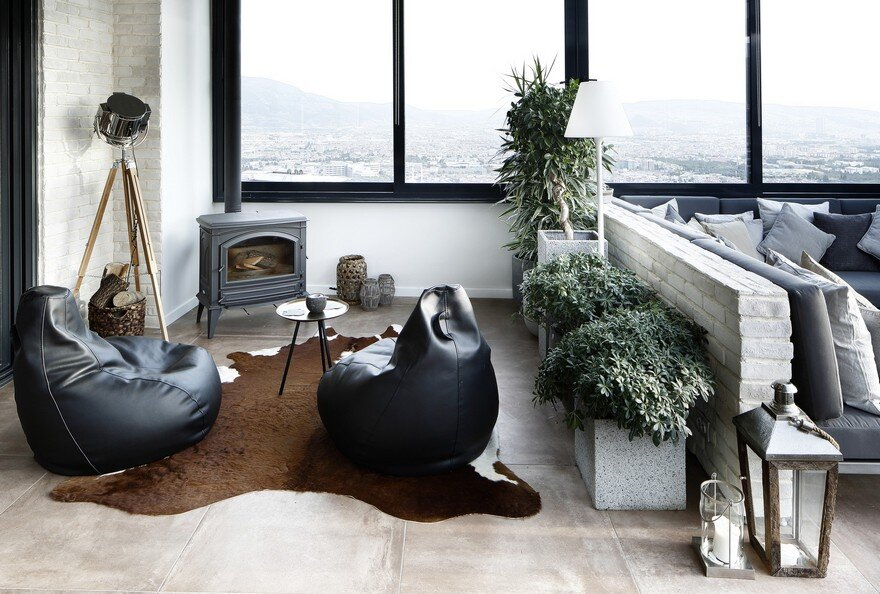 Bornova Penthouse Inspired by Wabi-Sabi Style, Unlimited Design
