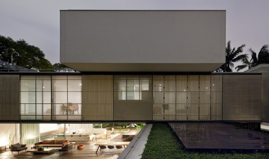 Luxury Contemporary Home in Brasil: Belgica House by AMZ Arquitetos 13