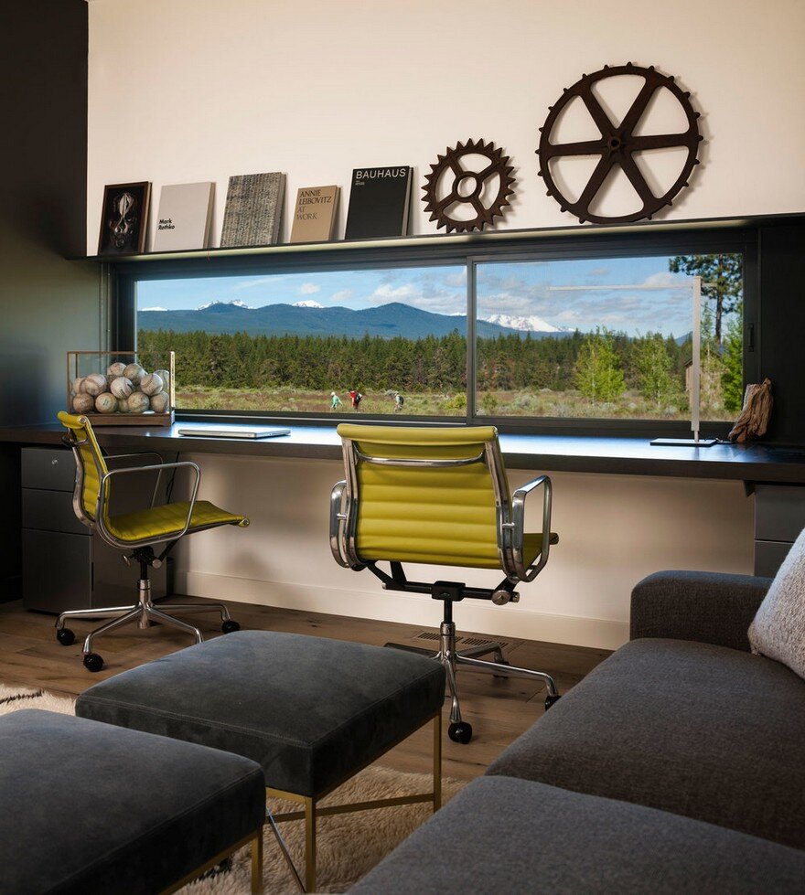 Modern Weekend House In Central Oregon Deforest Architects Nb Design Group