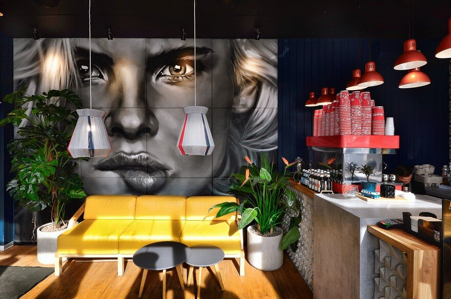 A Small But Original Coffee House: Redcupsalut by Allartsdesign 4