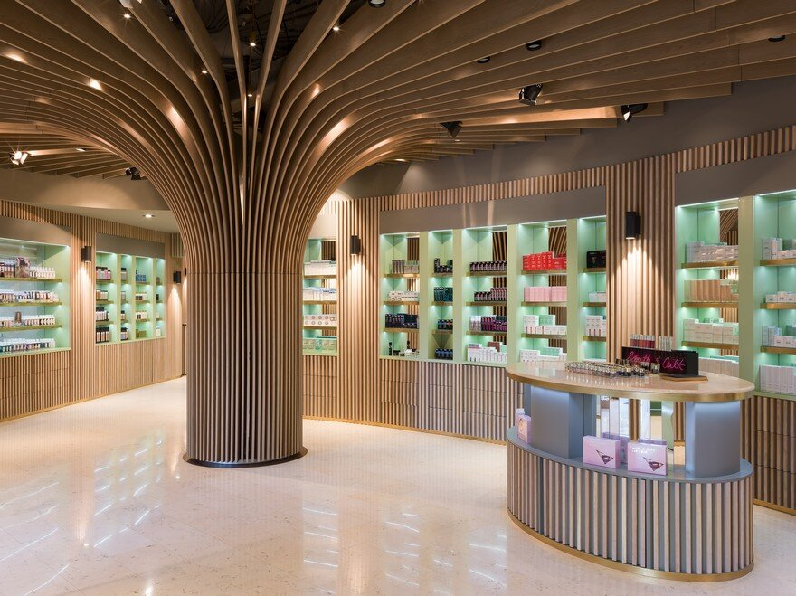 Telli Bio-Boutique in Kazakhstan by Arrow Architects