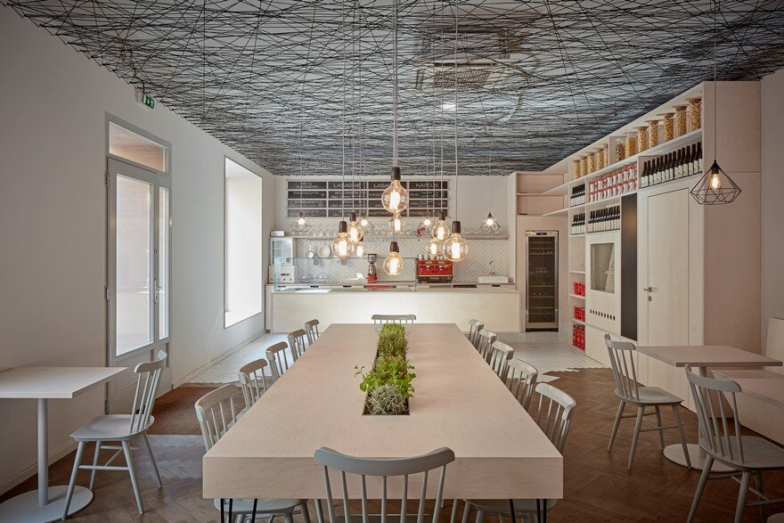Mars.s Architects Designed the Interior of Prague´s Lasagneria Bistro