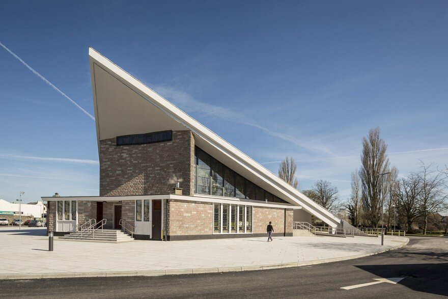 Former Dominican Church Turned into a Modern Library in Athy, Ireland