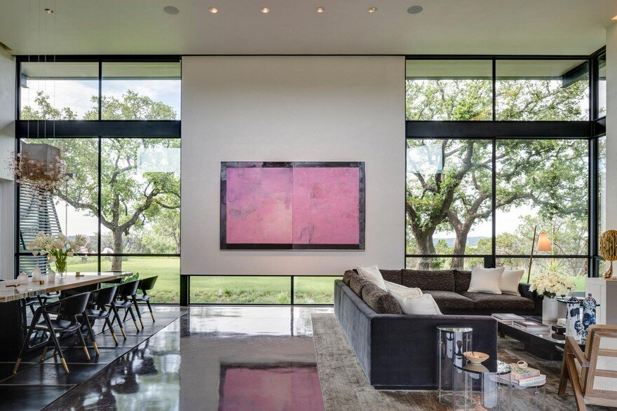 Texas Modern Ranch with Sophisticated Finishes and a Casual Elegance 2