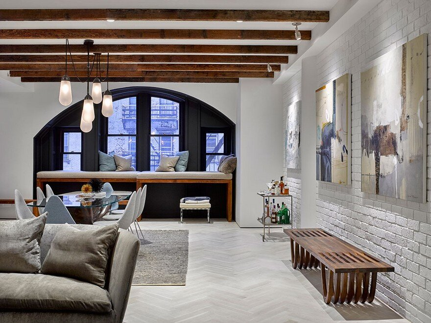 Tribeca Condo Comes Alive With Fresh Palette of Colors and Textures 1