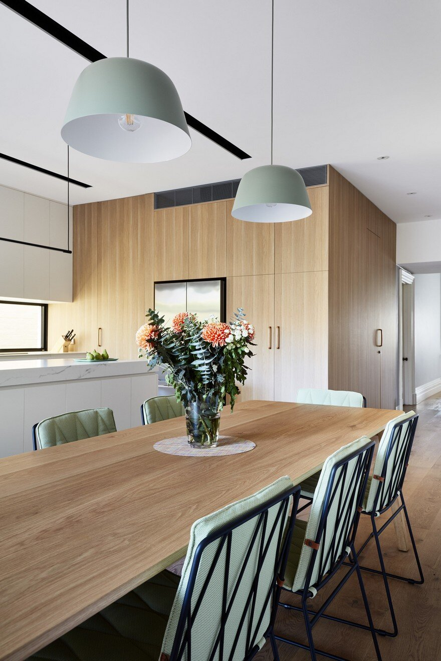 dining room, Bryant Alsop Architects