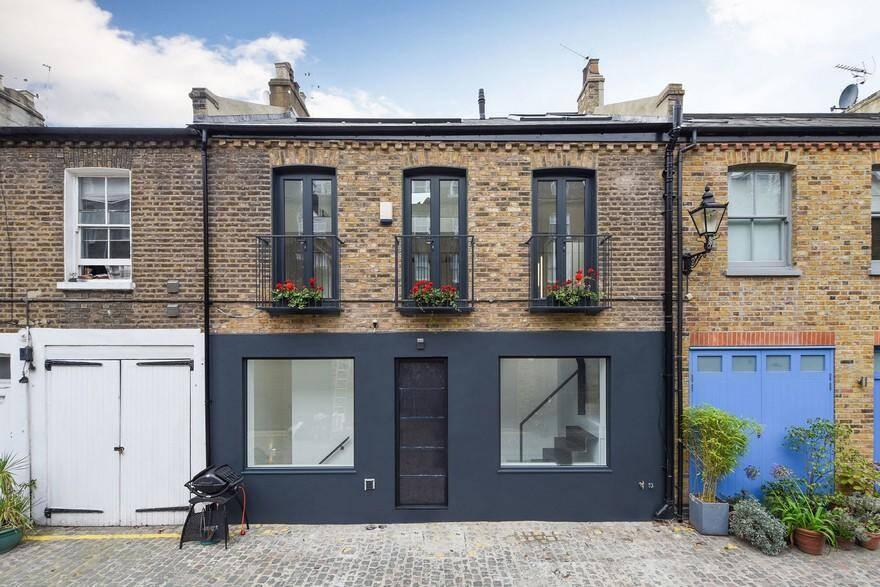 Radical Refurbishment of a Mid-Terrace Property in West London