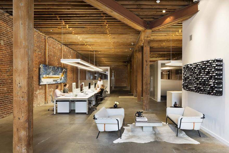 Old San Francisco Horse Stable Converted into Office Space by Feldman Architecture 2