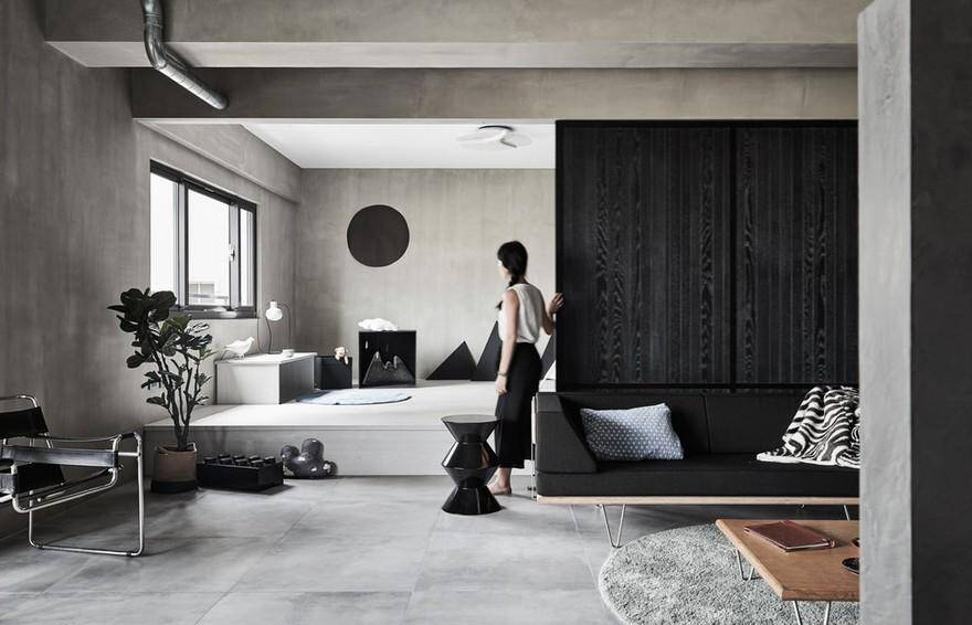 Simplistic Aesthetics with Industrial Elements Gentle Heart of Steel by HAO Design 5