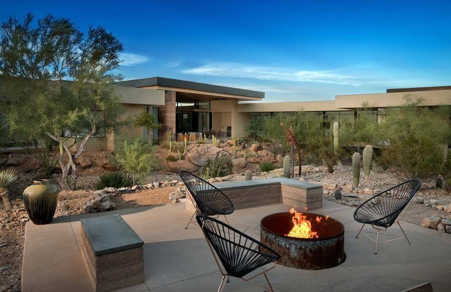 Desert Wash Residence / Kendle Design Collaborative 18