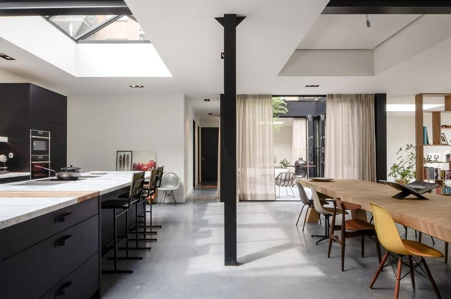 Old Amsterdam Canal House Converted into Beautiful Loft