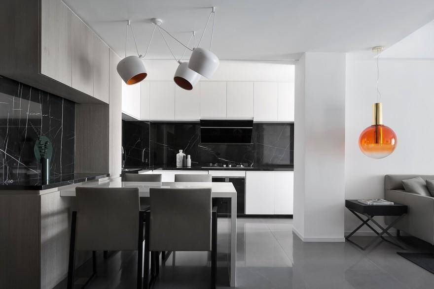 Easy and Minimalist Living Style White House by AD Architecture 7