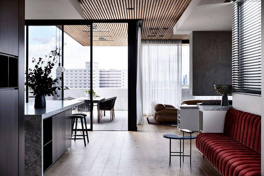 Holly Penthouse in Melbourne Combines Luxury with a Welcoming Atmosphere 6