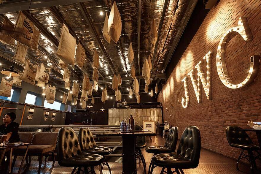 The Factory 30 Cafe Makes a Bold Statement of Rustic-Industrial Style 1