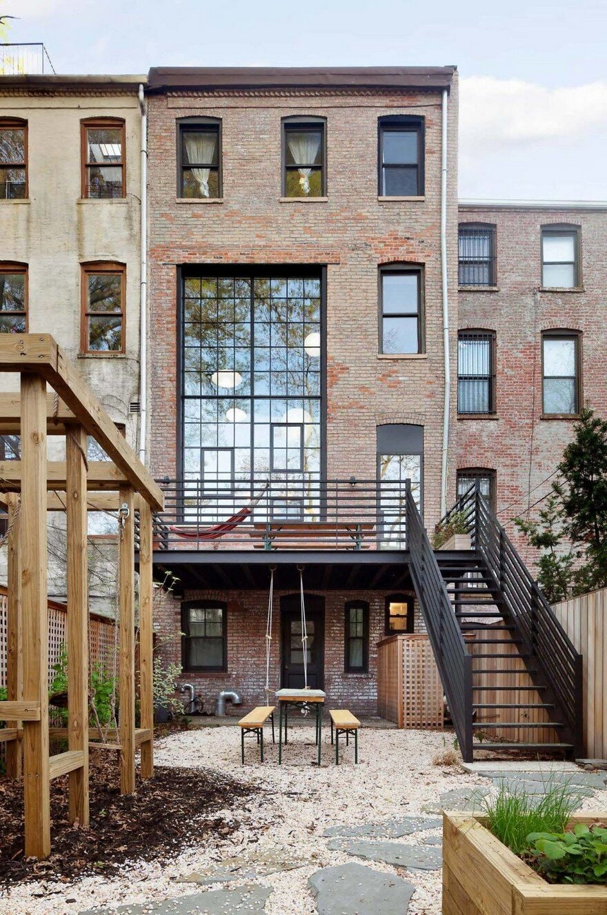 Brooklyn Family Home With A Distinct Industrial Aesthetic