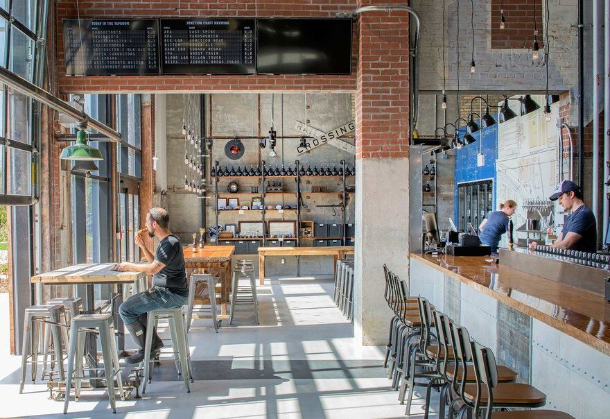 Junction Craft Brewery, PLANT Architect