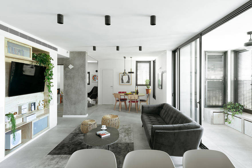 Modern Urban Apartment With Functional And Minimalist Design