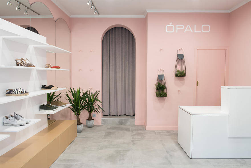 OPALO Store by Alapar Studio: A Fresh and Delicate Boutique