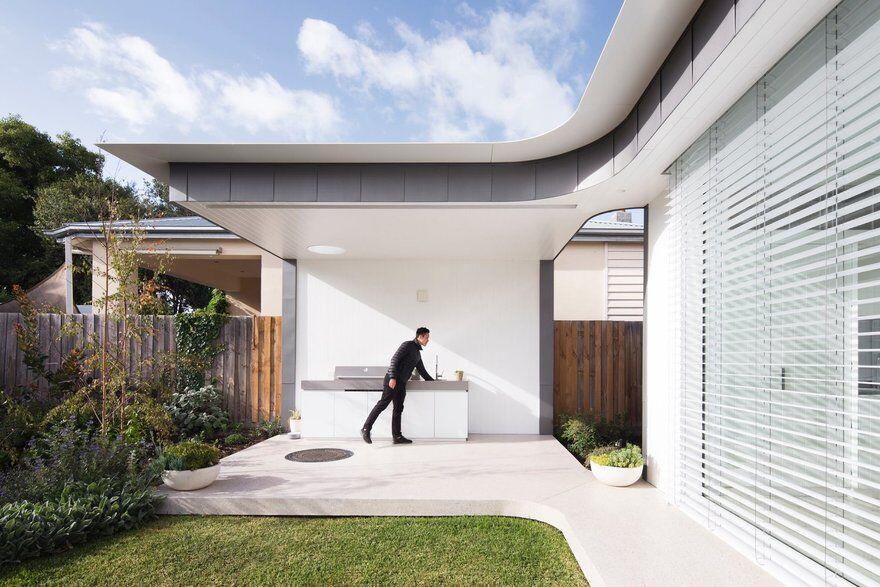 Weatherboard Bungalow Turned into Modern Family Home 1