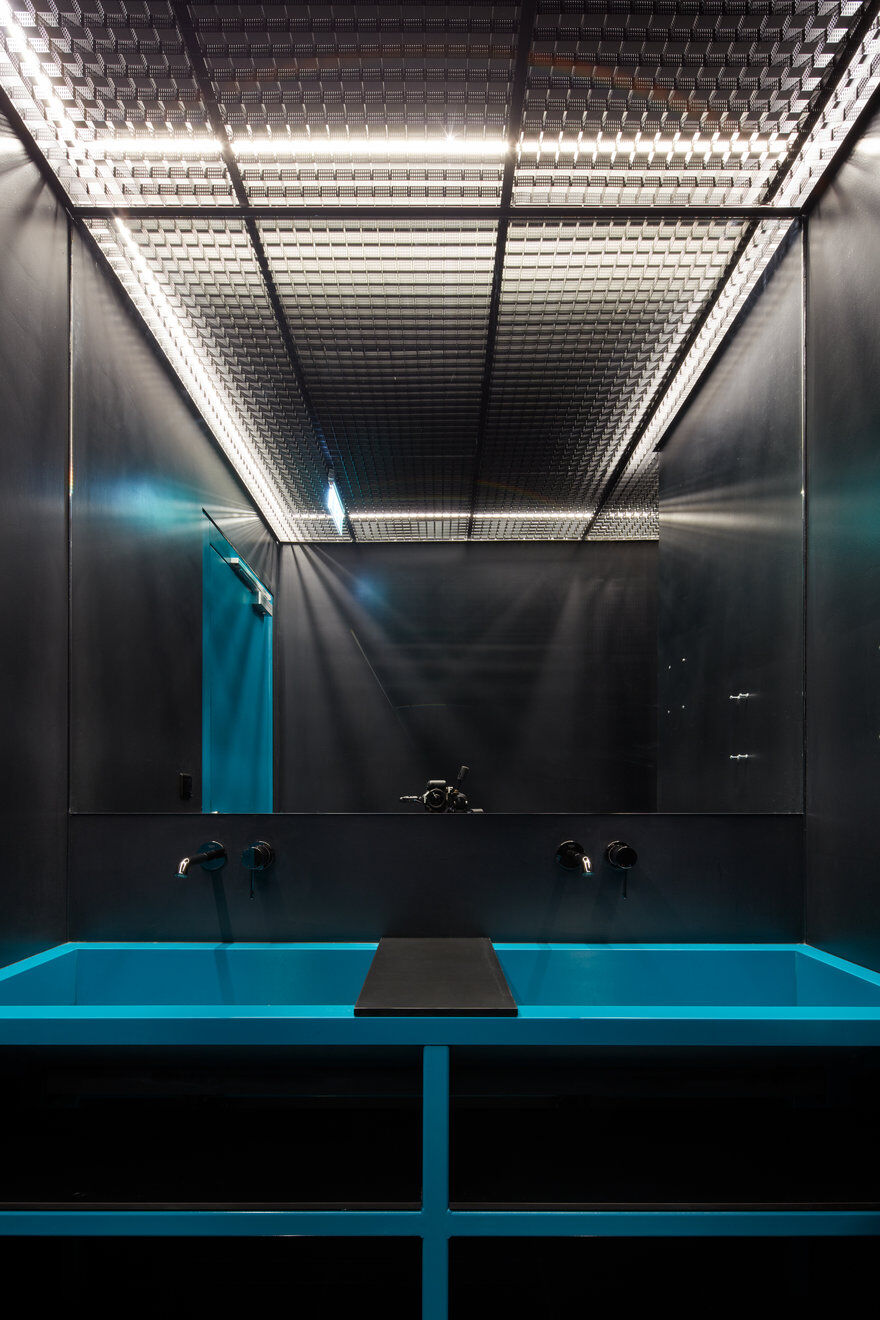 Studio Perspektiv, bathroom, industrial style