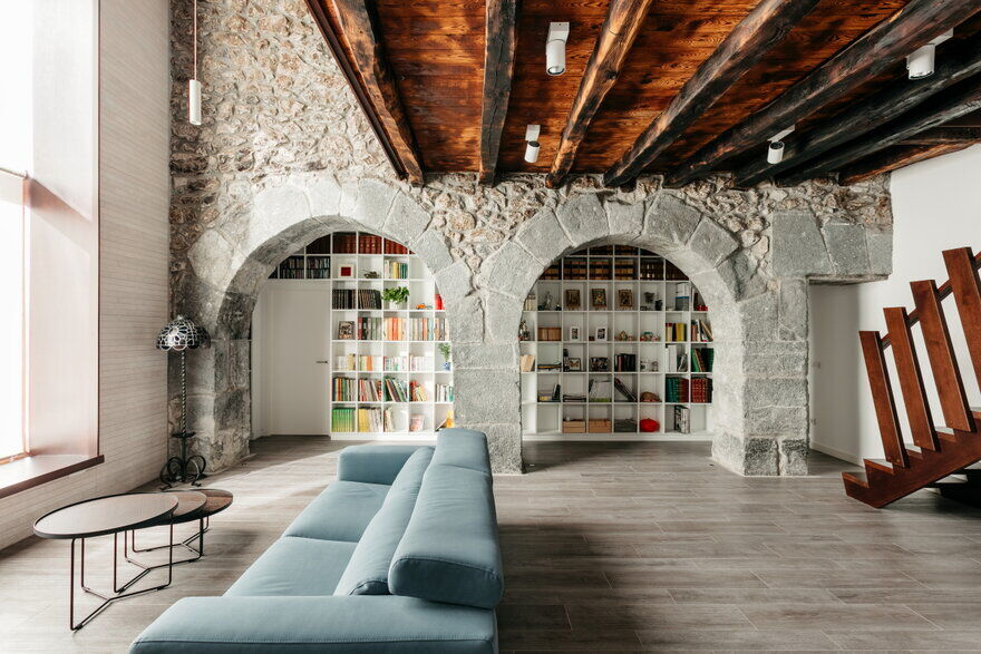 Traditional Basque House Converted into Two-Family Residence 3