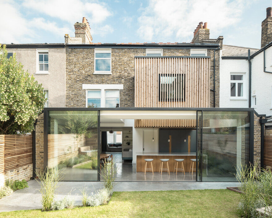 Modern Double Storey Extension in Southwark, London