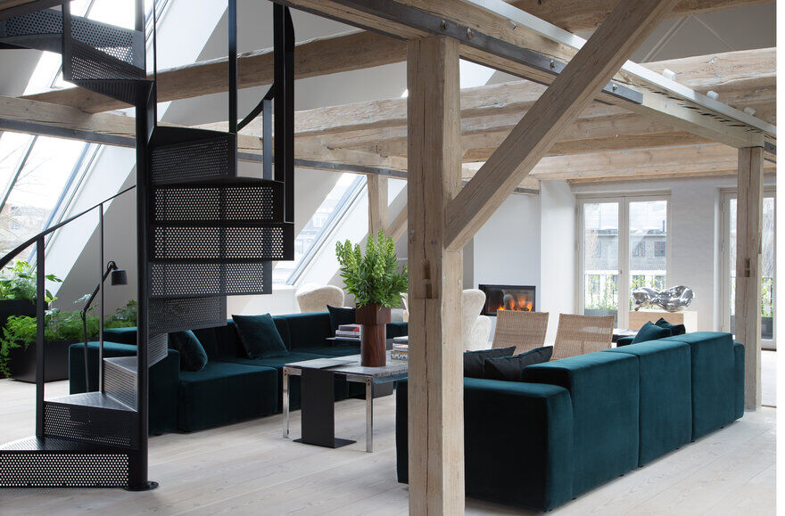 Vipp Loft by Studio David Thulstrup for the Danish Design Company Vipp