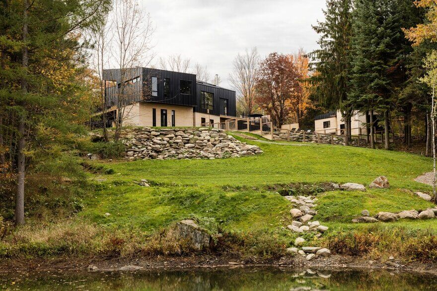 Abercorn Chalet - A Playful Rural Industrial Aesthetic