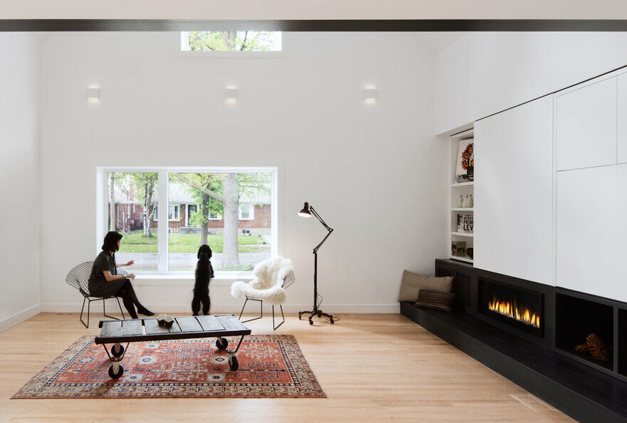 Peak-a-Boo House by Post Architecture Features a Warm and Minimalist Design 3