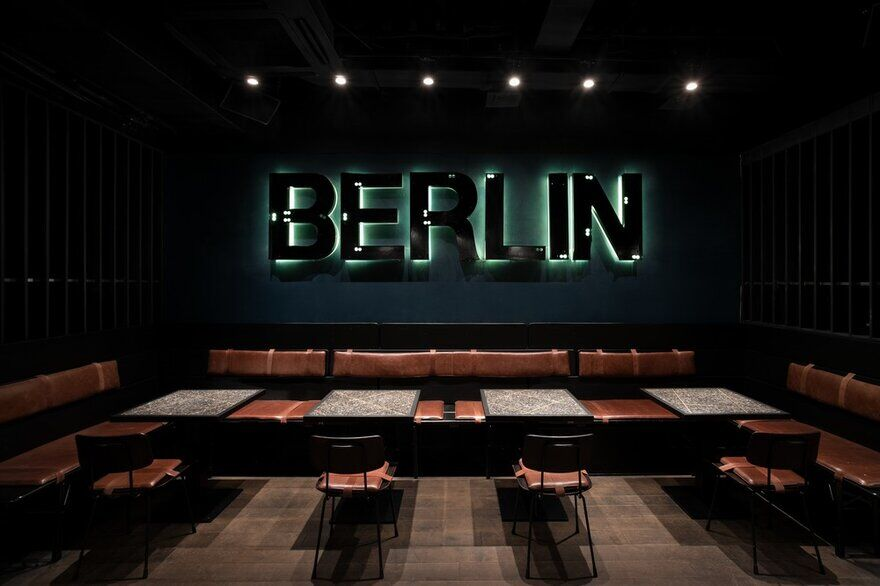 Berlin Bar, Moscow / Thilo Reich Architectural Design