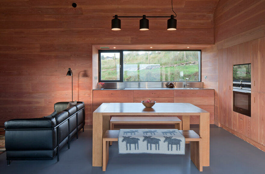 dining room / Mary Arnold-Forster Architects