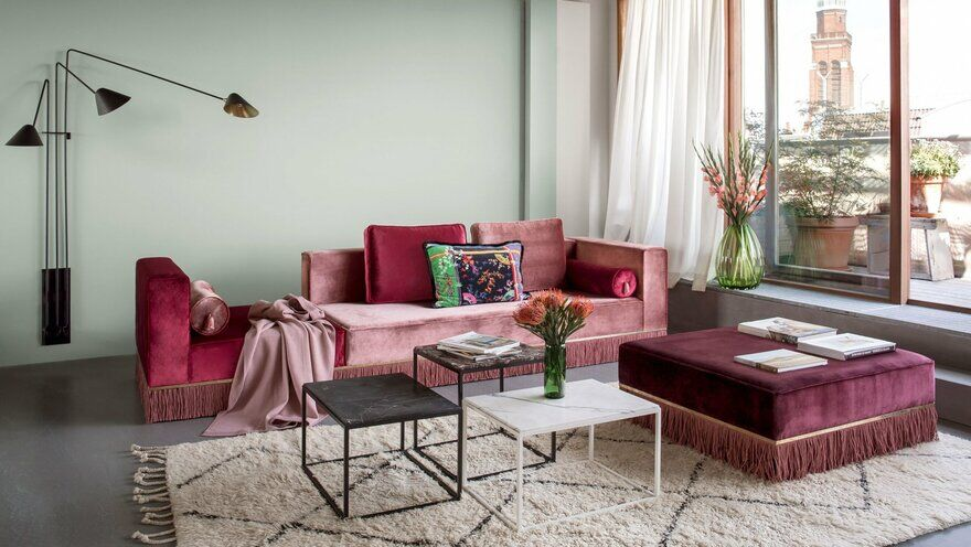 Ester Bruzkus' Berlin Apartment Futures Playful Material and Exquisitely Crafted Details