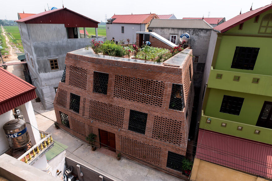Brick Cave House by Vietnamese Studio H&P Architects