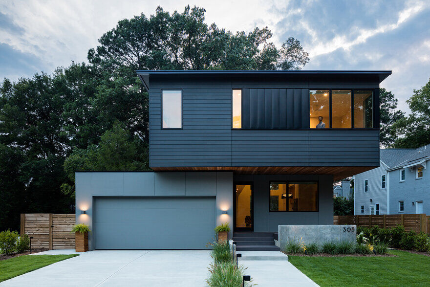 Chappell-Smith Residence / Raleigh Architecture