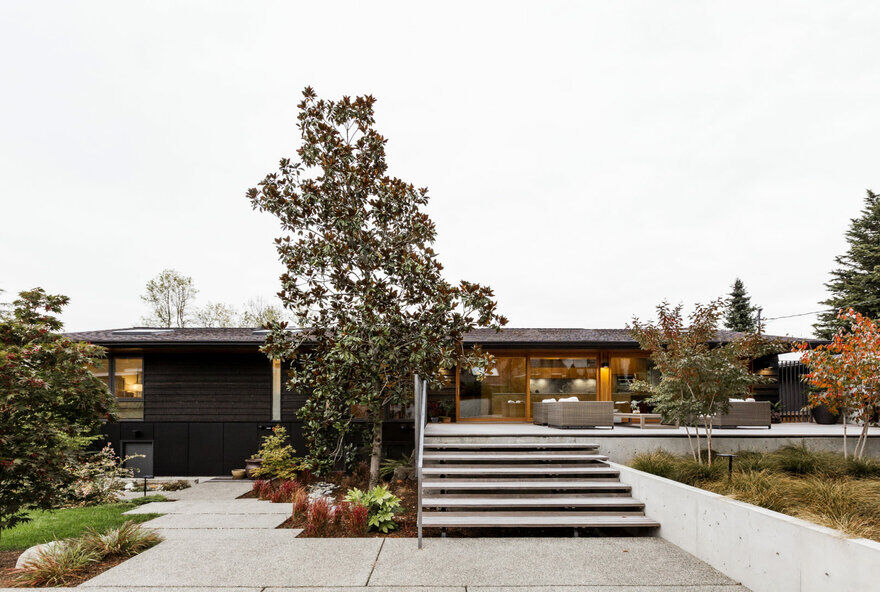 The Remodel of a 1959 Ranch-Style House in Madison Park